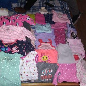 Bundle of BABYGIRL CLOTHES LOT